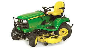 John Deere 4-wheel steering Mowers