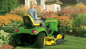 John Deere 4-Wheel Steering Residential Mowers