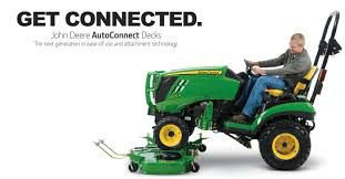 John Deere Auto-Connect Mower Deck